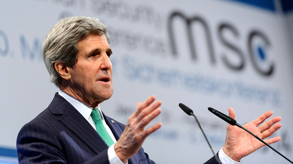 John Kerry: Media shouldn't cover terrorism, should leave people ignorant